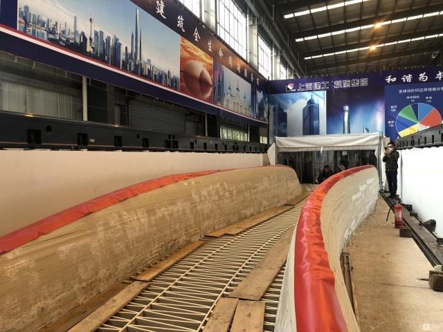 第一座3D打印桥在上海投入使用