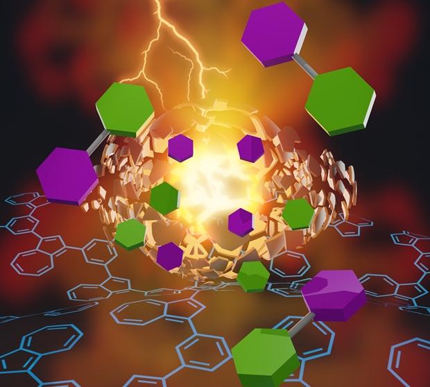 可见光可引发氧化吲哚芳基化反应