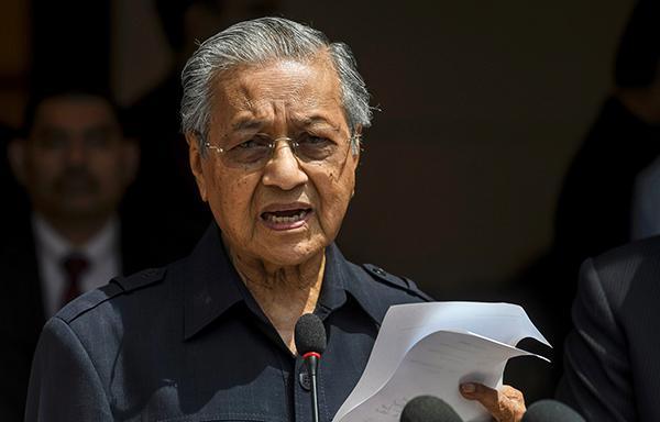 马来西亚总理说南部化学废料污染情况已得到控制