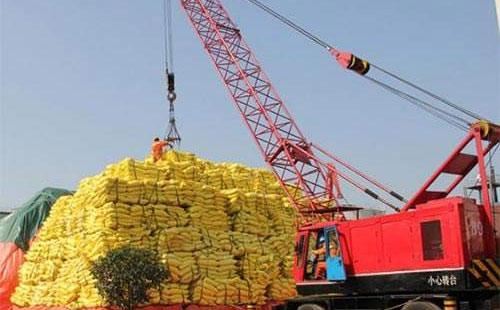 2019年2月中国出口化肥134.2万吨